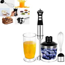 4 In 1 350W Electric Hand Blender, Mixing Food Stirring Chop
