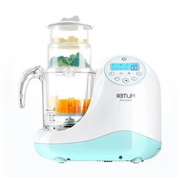 Mliter 5 in 1 Food Processor, Steam Cooker, With Blending, M