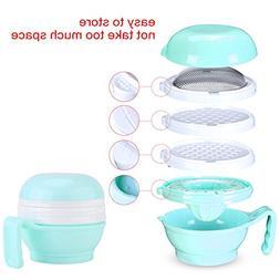 1 Set of Baby Toddler Food Masher Infant Portable Multi-Func