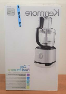KENMORE 11-Cup Food Processor 08-40713 00840713 Black/Stainl