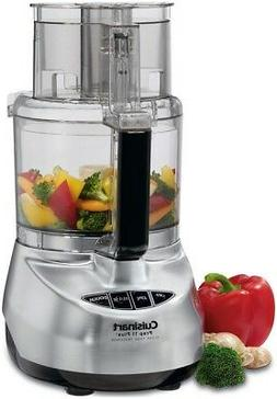 11 cup food processor brushed stainless