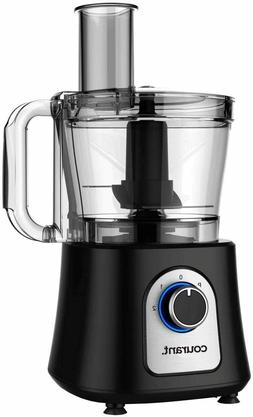 12 Cup Food Processor, Includes 3 Blades, Chop, Shred, Grate