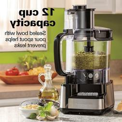 Hamilton Beach 12-Cup Stack and Snap Food Processor  Brand N