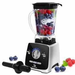 1400W Countertop Blender 72oz 8-in-1 Food Processor for Soup