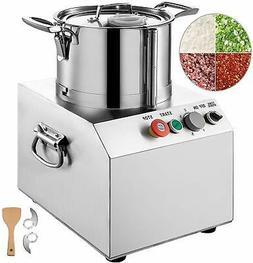 6L Commercial Grade Food Processor Blender Kitchen Fritter M