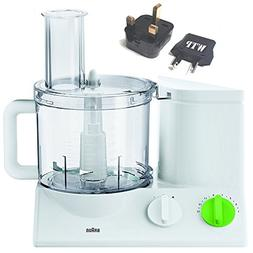 Bundle 2 Items: Food Processor + WTP Plug Kit - Braun FP3010