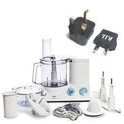 Bundle 2 Items: Food Processor + WTP Plug Kit - Braun FP3020