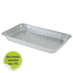 DollarDays 2269747 Nicole Aluminum Full Size Medium Deep Pan