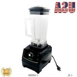 2L 2200W Blender Mixer Juicer Food Processor Ice Smoothie Ba