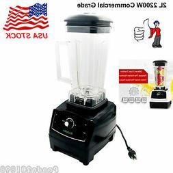 2L 2200W Commercial Grade Blender Mixer Juicer Food Processo