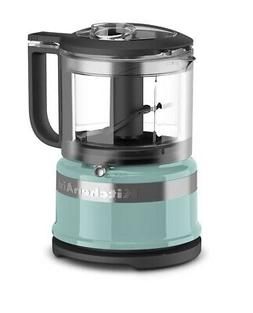 KitchenAid 3.5-Cup Mini Food Processor | Aqua Sky