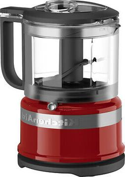 KitchenAid 3.5 Cup Mini Food Processor Chopper 2 Speeds and