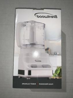 3 Cup Food Processor in White