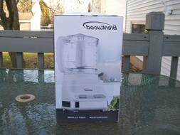 ~BRENTWOOD!~3 CUP FOOD PROCESSOR!~2 SPEED!~WHITE!~NEW IN BOX