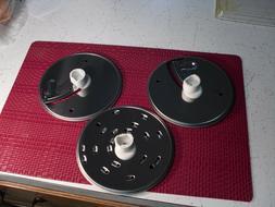 3 KitchenAid Food Processor Shredding Slicing Discs  KFPW760