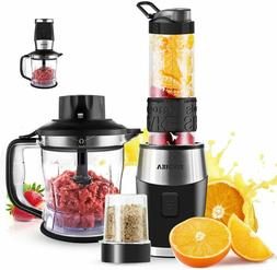 3 In 1 Blender and Food Processor Combo,Smoothie Shake Blend