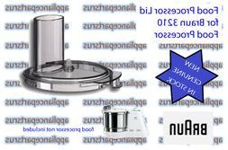 Braun 3210 Food Processor Lid Part BR67000545 7000545 NEW -