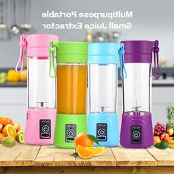 380ml Portable Juicer Electric USB Rechargeable Smoothie Ble