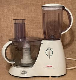 BOSCH 4P10 Food Processor Plus Blender And Food Processor Co