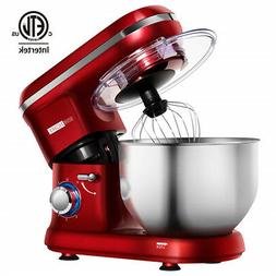 VIVOHOME 650W Stand Mixer Food Processor 6-Quart Stainless S