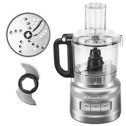 KitchenAid 7 Cup 3 Speed Food Processor and Veggie Chopper,