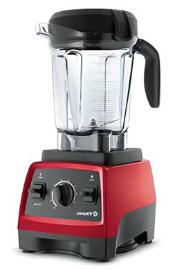 Vitamix 7500 Blender with Low Profile Jar, 2.2 HP Motor, Red
