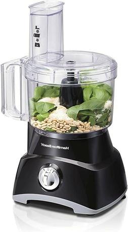 Hamilton Beach 8-Cup Compact Food Processor & Vegetable Chop