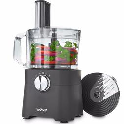 VonShef 8 Cup Food Processor Blender Chopper Multi Mixer Com