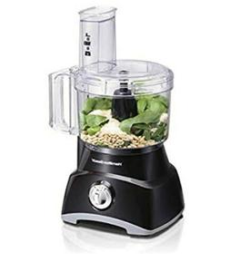 Hamilton Beach 8 Cups 450 W Powerful Food Processor, Black
