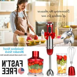 800W Hand Blender Stick immersion Mixer Variable Speed Food