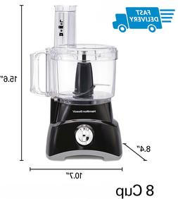Hamilton Beach 8Cup Compact Food Processor & Vegetable Chopp
