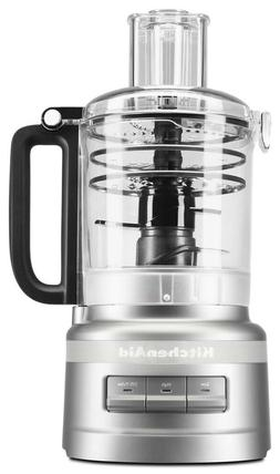 KitchenAid 9 Cup Food Processor PLUS, KFP0919 Contour Silver