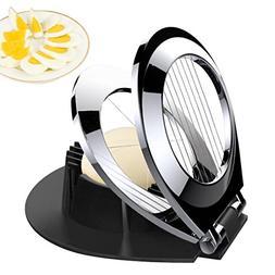 BIBURY Egg Slicer Egg Cutter Heavy Duty Slicer for Mushroom