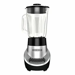 BLACK+DECKER BL1130SG FusionBlade Blender with 6-Cup Glass J