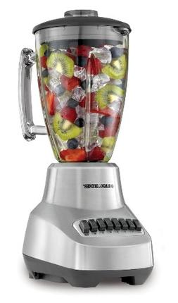 BLACK+DECKER BL3500S Countertop Blender with 6-Cup Glass Jar