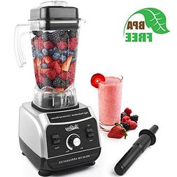 Betitay Professional Countertop Blender, 1500W Commercial Sm