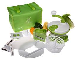 CHEF CHIFFON All-In-One Kitchen Manual Hand Operated Food Pr