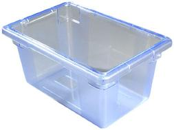 "Carlisle  - 12"""" x 18"""" x 9"""" Color-Coded Food Boxes-Blue"
