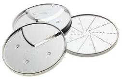 Cuisinart DLC-893 3-Piece Specialty Disc Set, Fits 7- and 11