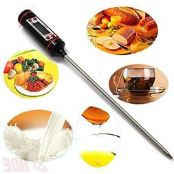 Food processor thermometer digital cooking kitchen meat tool