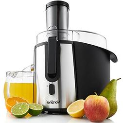 VonShef Whole Fruit Juice Extractor Centrifugal Juicer Machi