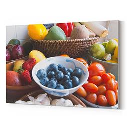 Westlake Art - Food Bowl - 12x18 Canvas Print Wall Art - Can