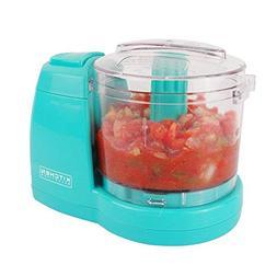 Kitchen Selectives Colors Aqua Teal Mini Chopper