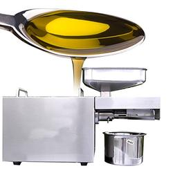 Carejoy Oil Press Machine,Automatic Stainless Steel Small Oi