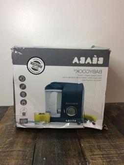 BEABA Babycook 4 in 1 Steam Cooker and Blender, Navy