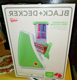 Black & Decker Lean Green Prep Machine Food Processor FROZEN