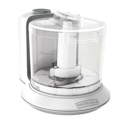 Black & Decker One Touch Electric Mini Food Processor Kitche