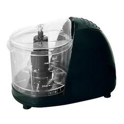 Better Chef Black Compact Food Chopper - Small Electric Food