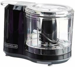 BLACK+DECKER 1.5-Cup Electric Food Chopper, Improved Assembl
