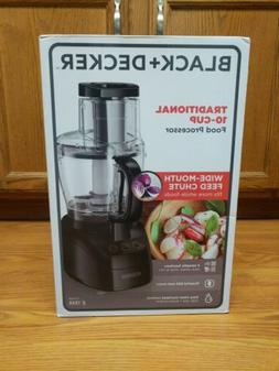 black decker traditional 10 cup food processor